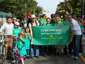 GreatGreenGroup, Cabbagetown Parade, Sep. 11, 2010