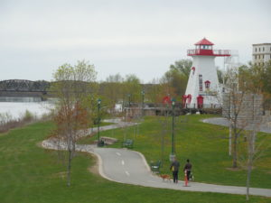 St. John River, Fredericton, N.B.: photo-Bill Michelson